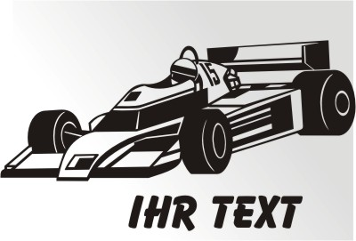 IndyCar Racing Sticker