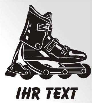Inline Skating aufkleber
