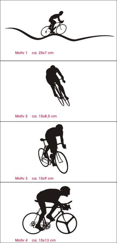 radsport  bike aufkleber