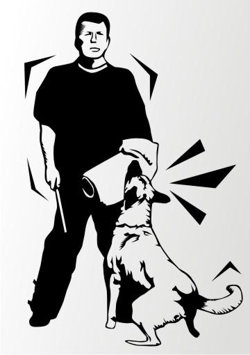 schutzhundesport aufkleber