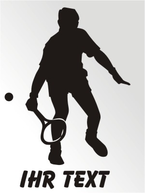 tennis aufkleber