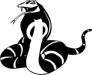 cobra aufkleber