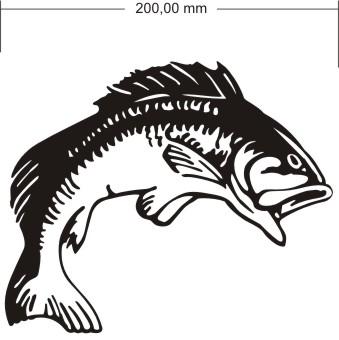 Fisch aufkleber angeln angelsport for Bootsaufkleber design