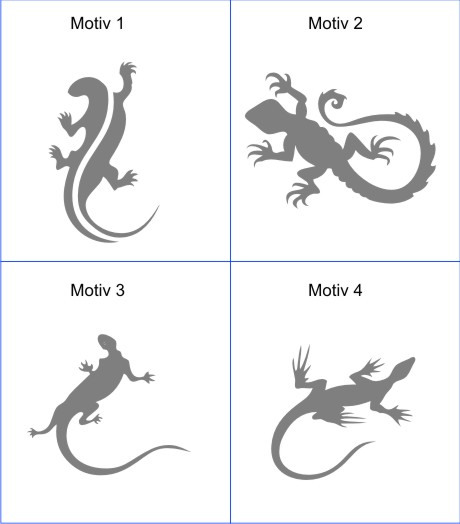 gecko aufkleber