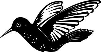 kolibri aufkleber