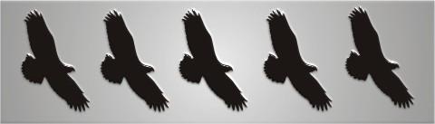 Vogelschutz Aufkleber Für Wintergarten Fenster 10x15 Cm