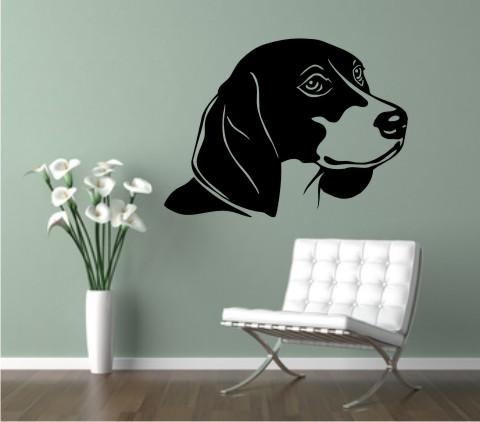 wandtattoo beagle 01