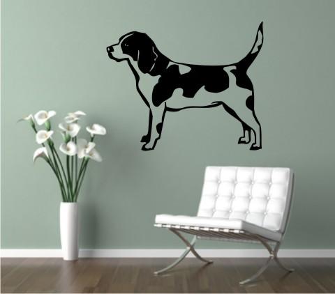 wandtattoo beagle 02