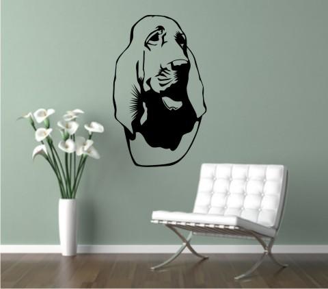 wandtattoo bloodhound 01DR