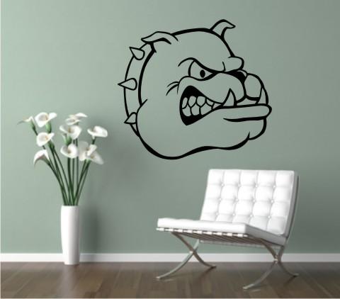 wandtattoo bulldog 02MG