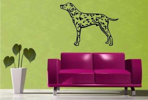 wandtattoo dalmatiner hund