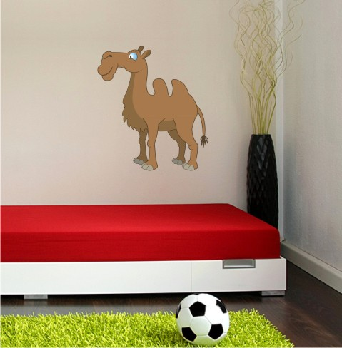 kamel wandtattoo