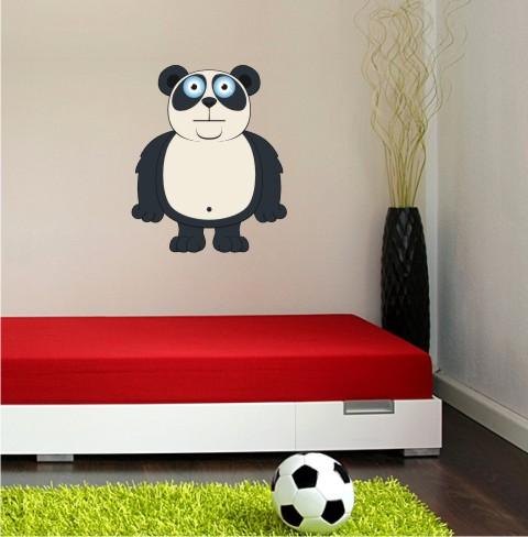 pandabaer wandtattoo