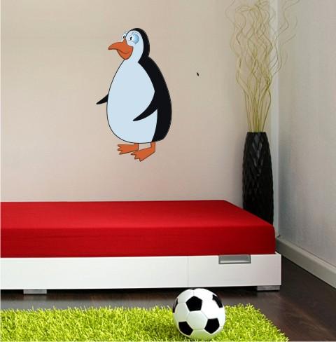 penguin wandtattoo