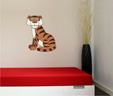 tiger wandtattoo