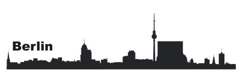 wandtattoo skyline berlin