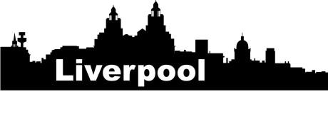 wandtattoo skyline Liverpool