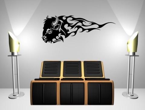 wandtattoo bison