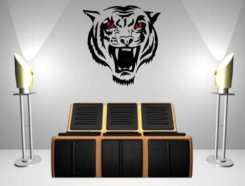 wandtattoo  tiger tierwelt