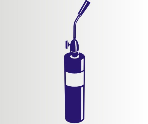 propangas brenner folien aufkleber f r auto schaufenster. Black Bedroom Furniture Sets. Home Design Ideas